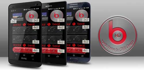 Beats by Dr. Dre Theme HD UCCW v1.0