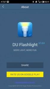 DU Flashlight – Brightest LED 1