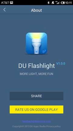DU Flashlight – Brightest LED v1.0.0