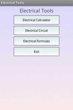 Electrical Tools Pro v1.0