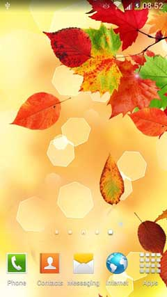 Falling Autumn Leaves LWP PRO v1.0.2