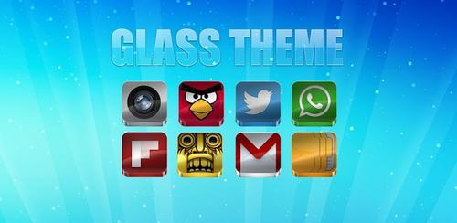 GLASS APEX /NOVA /GO /SMART THEME v7.0