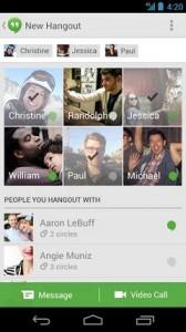 Hangouts (replaces Talk)147