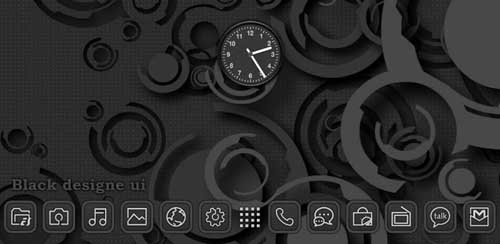 Next Launcher Black Designe v1.2