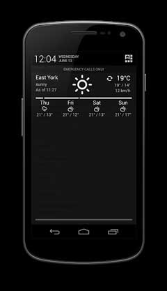 Notification Weather Pro v1.1.8