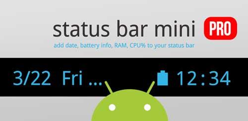 Status Bar Mini PRO