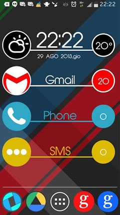 Tondo UCCW Weather Clock Skin v1.0