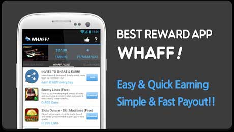 WHAFF, Get Rewarded Everyday v118