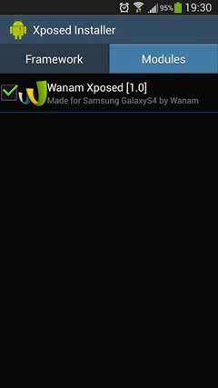 Wanam Xposed v2.0.3