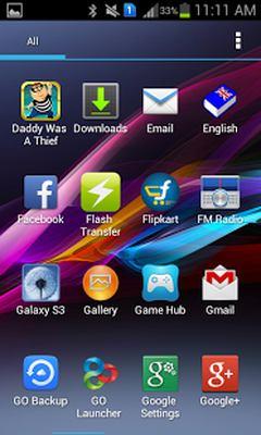 Xperia Z HD Theme v1.0