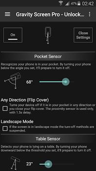 Gravity Screen Pro – On/Off v3.20.0.3