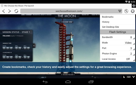Photon Flash Player & Browser v5.3
