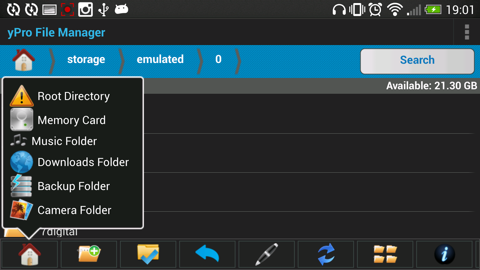 File Explorer & Backup yPro v1.0