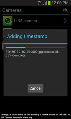 Camera Timestamp Add-on v1.0.2