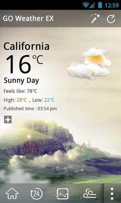 GO Weather Forecast & Widgets Premium v4.18