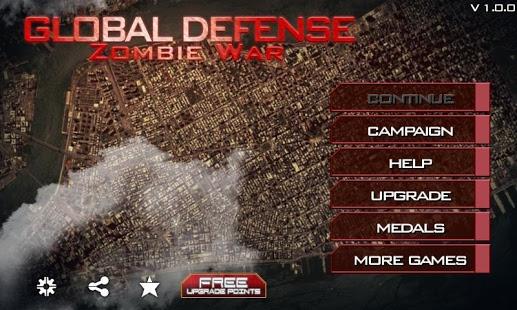 Global Defense: Zombie War v1.5.4