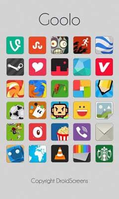 Goolo icons GO/Apex/Nova/ADW v2.5.9