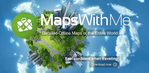 Maps With Me Pro, Offline Map