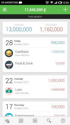 Money Lover Plus vandroid v2.1.1
