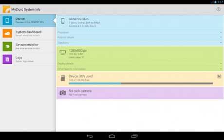 MyDroid System Info v1.0.8