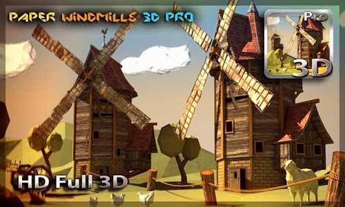 Paper Windmills 3D Pro lwp v1.0