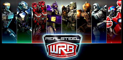 Real Steel World Robot Boxing v2.1.27 + data