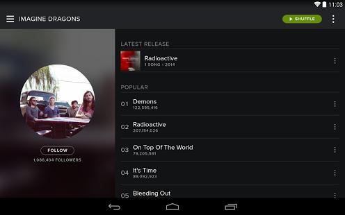 نرم افزار موسیقی آنلاین اسپاتیفای  Spotify Music v8.4.75.624