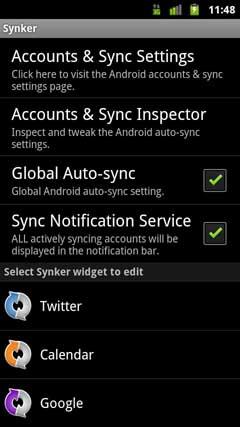 Synker – The Sync Widget FULL v1.1.16