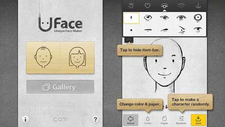 Uface – Unique Face Maker v1.1.0