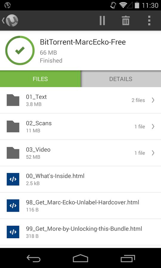 µTorrent® Pro – Torrent App v5.0.4