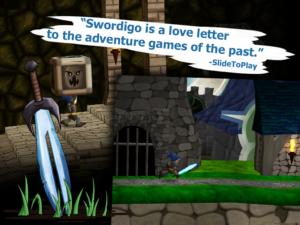 تصویر محیط Swordigo v1.4.2