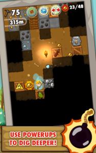 تصویر محیط Pocket Mine v3.4.1