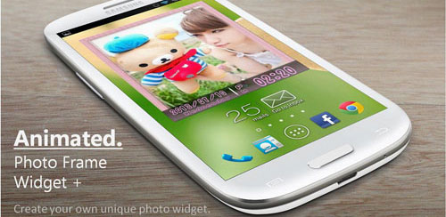 Animated Photo Frame Widget v 4.7.1