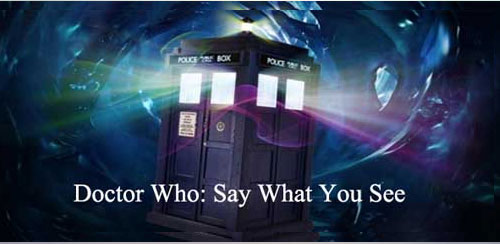 Doctor Who: Say What You See v1.0.0