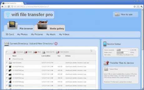 WiFi File Transfer Pro v1.0.9