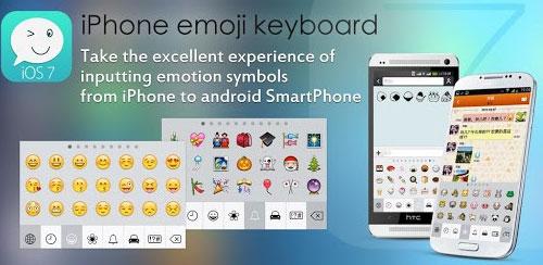 iOS 7 Keyboard – iPhone Emoji v1.6