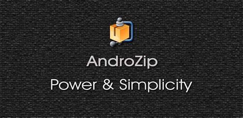 دانلود نرم افزار فایل منیجر قدرتمند اندرو زیپ