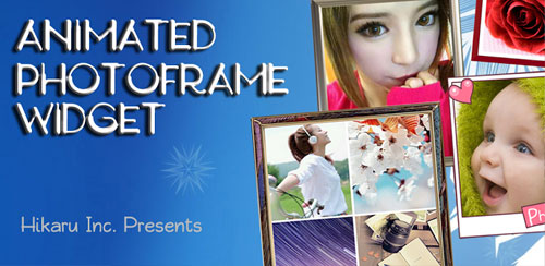 Animated-Photo-Frame-Widget-+