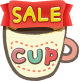 Cup - PDF Clip and Scrap Sale