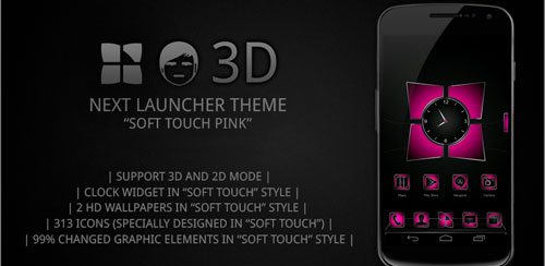 Next-launcher-theme-Soft-pink