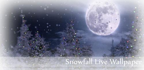 Snowfall Live Wallpaper Full v2.27