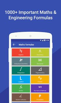 Maths Formulas with Calculator v1.0.30