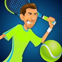بازی تنیس حرفه ای ها آیکون