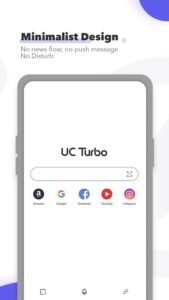 تصویر محیط UC Browser Turbo – Fast Download, Private, No Ads v1.6.9.900
