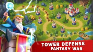 تصویر محیط Toy Defense Fantasy — Tower Defense Game v2.3 + data