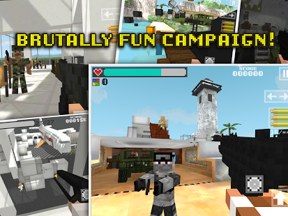 Block Gun 3D: Ghost Ops v1.2.1 + data