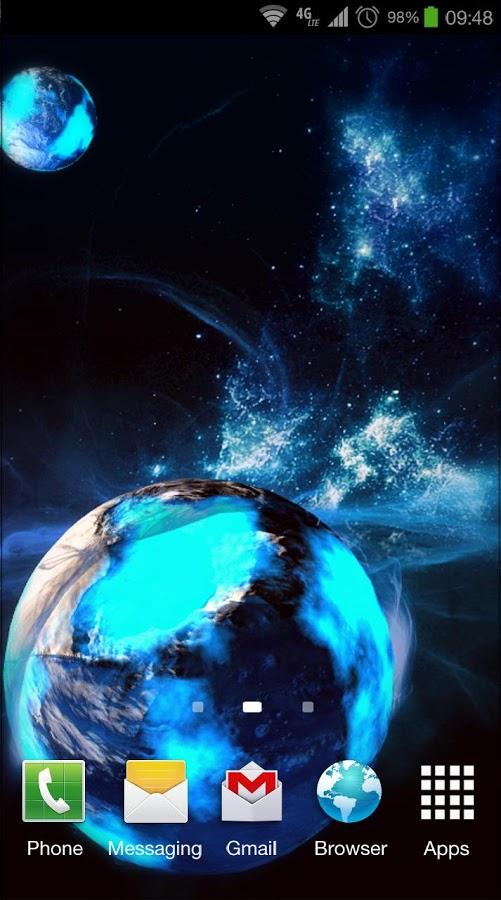 Deep Space 3D Pro lwp v1.0