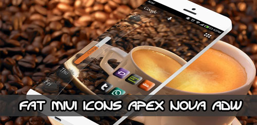 FAT MIUI ICONS APEX NOVA ADW v1.1.1