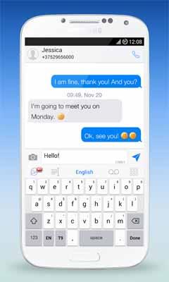 Go SMS 7 Theme v2.2