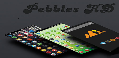 Pebbles HD Apex Nova Holo Adw v2.1